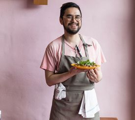 Vien Dobui, chef and co-owner of Công Tū Bôt.