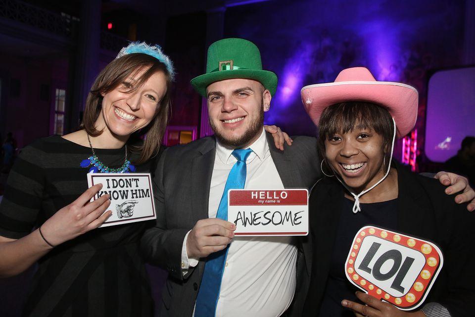 From left: Julie Lunstead of Jamaica Plain, Justin Toro of Bronx, N.Y., and Jennifer Turner of Brookline.