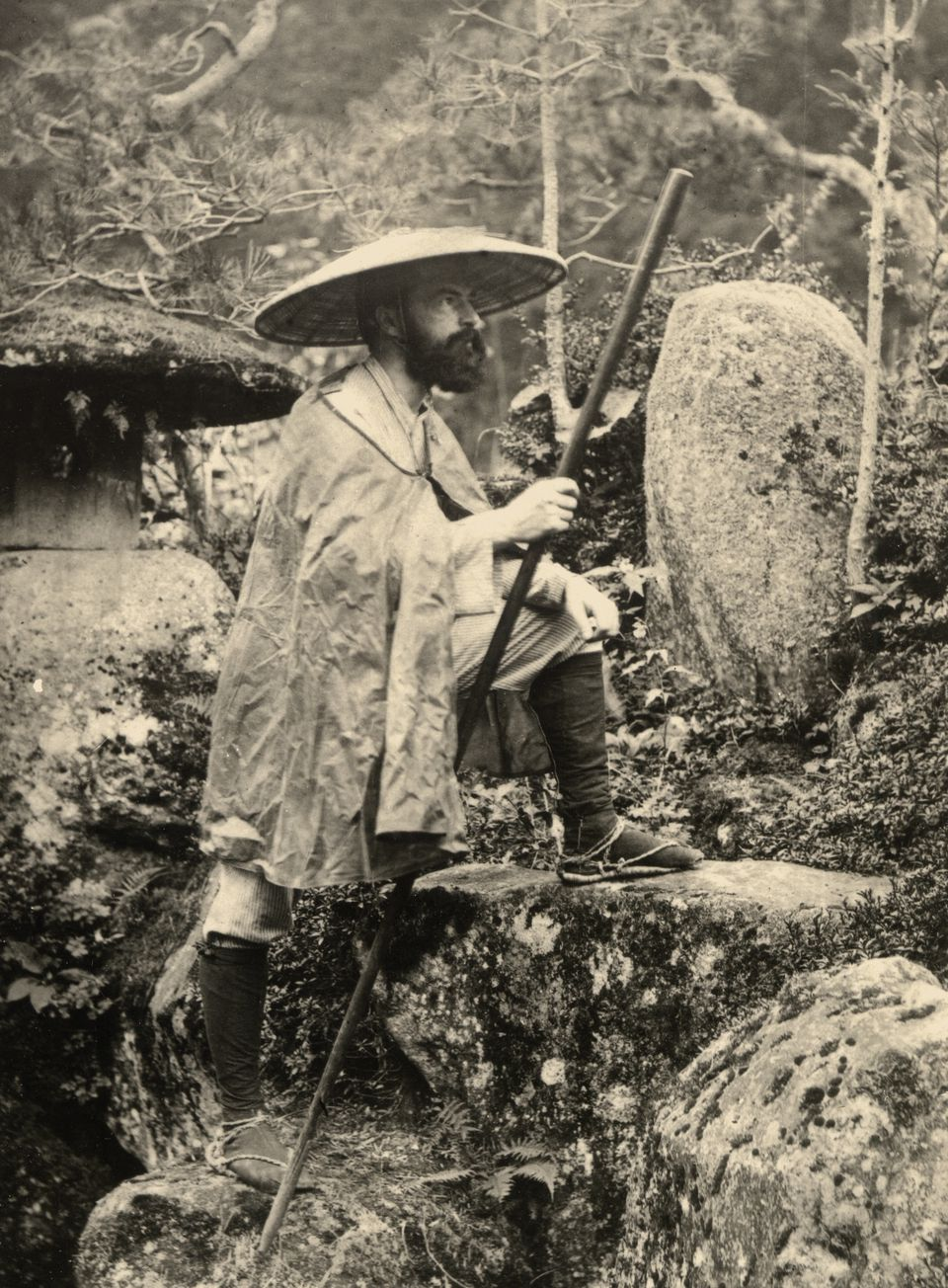 In Japan, Bigelow became a Buddhist.