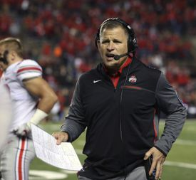Greg Schiano spent three seasons as Ohio State's defensive coordinator/associate head coach.