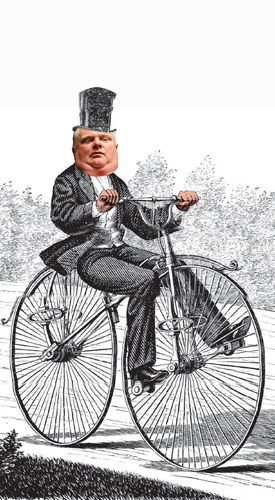 Ford is famously pro-car, and his strongest support came from suburbs outside downtown Toronto.