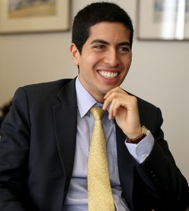 Daniel Arrigg Koh, 29, has ideas for his City Hall post.