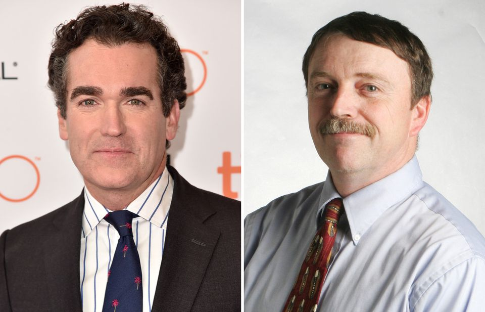 Brian d'Arcy James (left), Matt Carroll