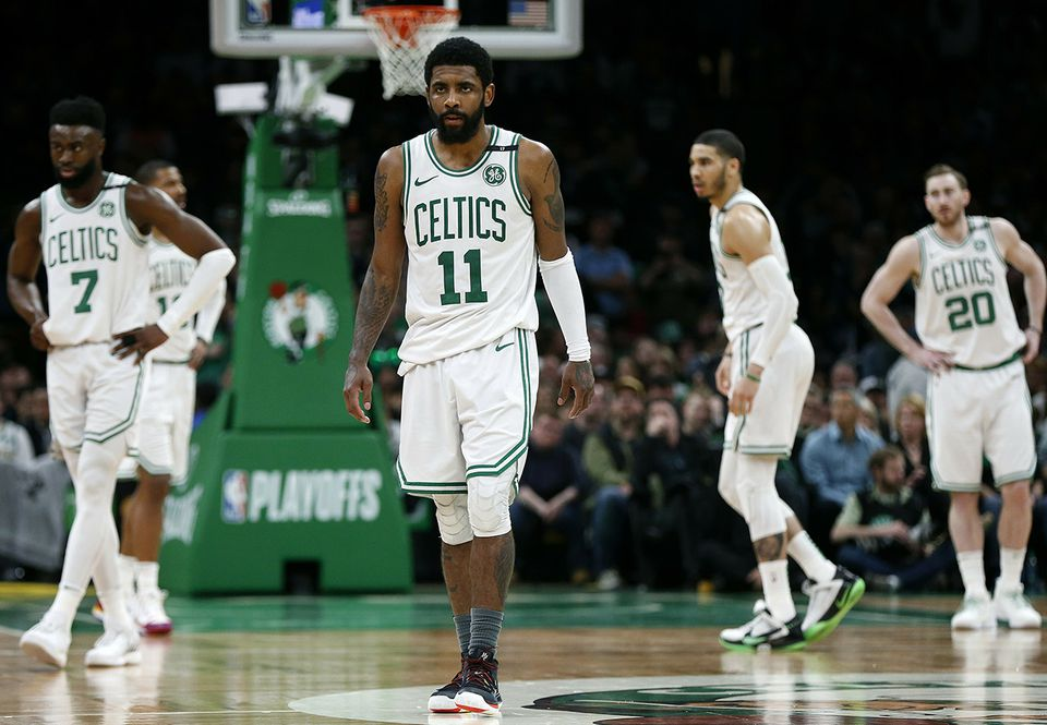 Kyrie Irving (11) and his teammates went down in defeat last week.