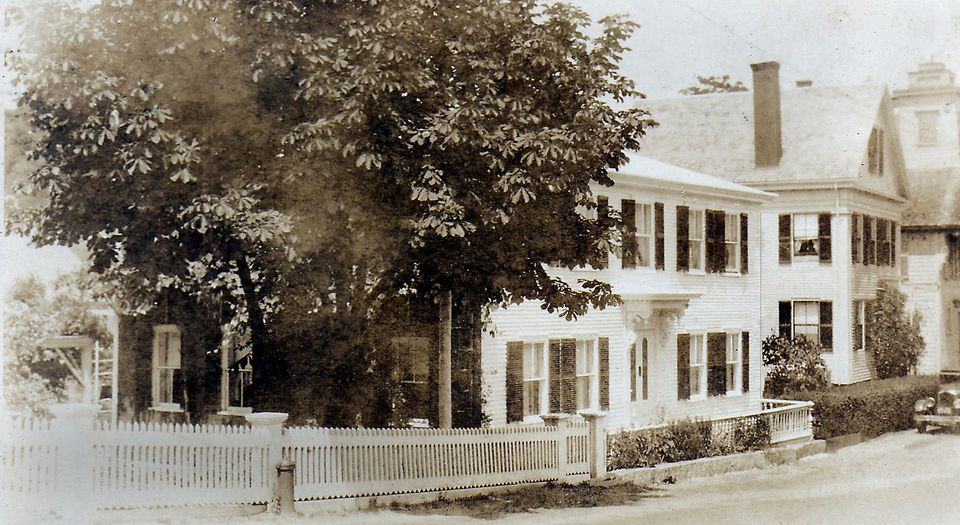A vintage photo of Eben House in Provincetown.