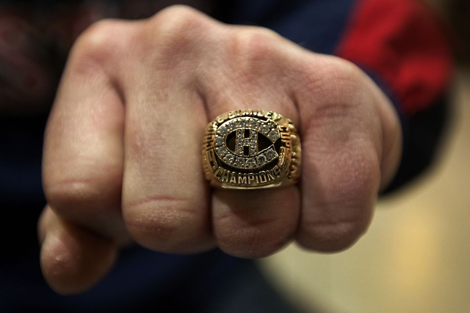 """At some point, James """"Whitey"""" Bulger obtained a replica Stanley Cup ring similar to the one shown above. Bulger has forfeited the ring, federal officials said in a court filing."""