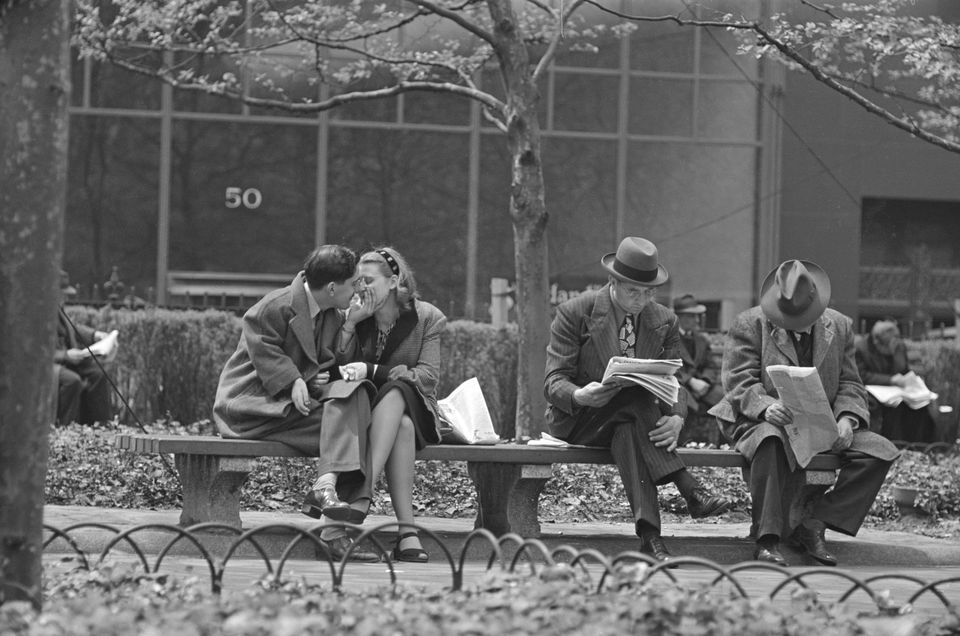 """Kubrick's """"Park Benches: Life and Love Is Everywhere"""""""