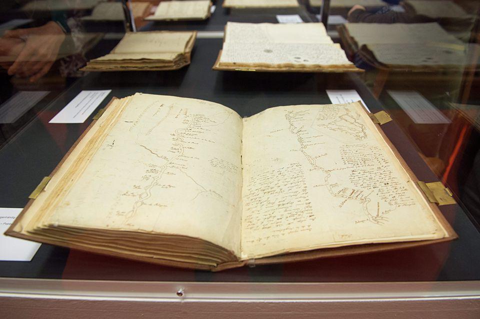 The American travel diaries of German geographer and explorer Alexander von Humboldt.