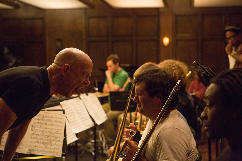 """J.K. Simmons plays Terence  Fletcher, the fearsome music instructor in """"Whiplash."""""""