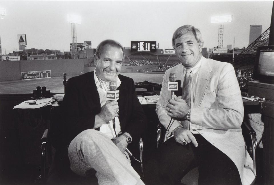 Ned Martin and Bob Montgomery called some of the earliest Sox games on NESN.