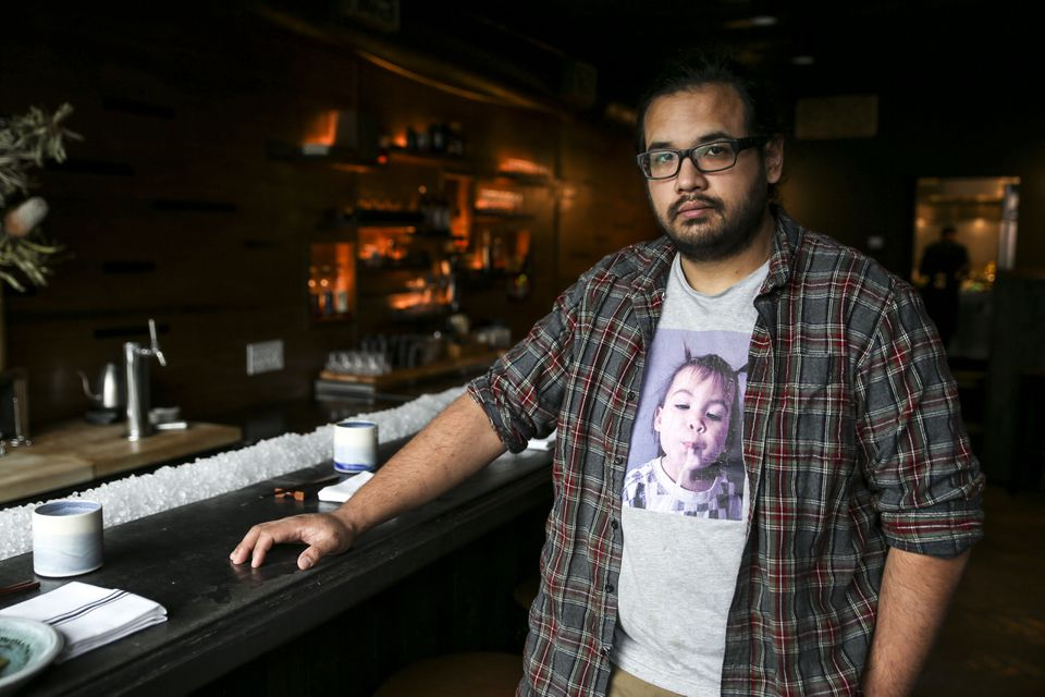 James Mark, a James Beard award nominee for best chef in the Northeast, is pictured at Big King, his second restaurant in Providence.