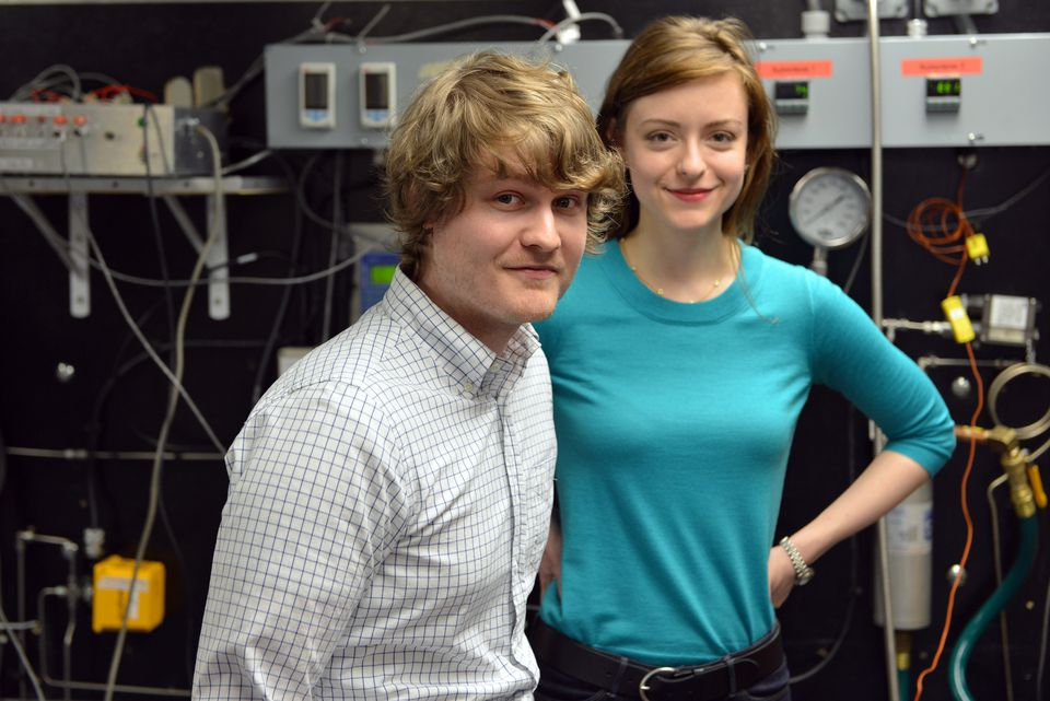 Mark Massie and Dr. Leslie Dewan, who founded Transatomic Power, are determined to find a way to turn nuclear waste into usable fuel.