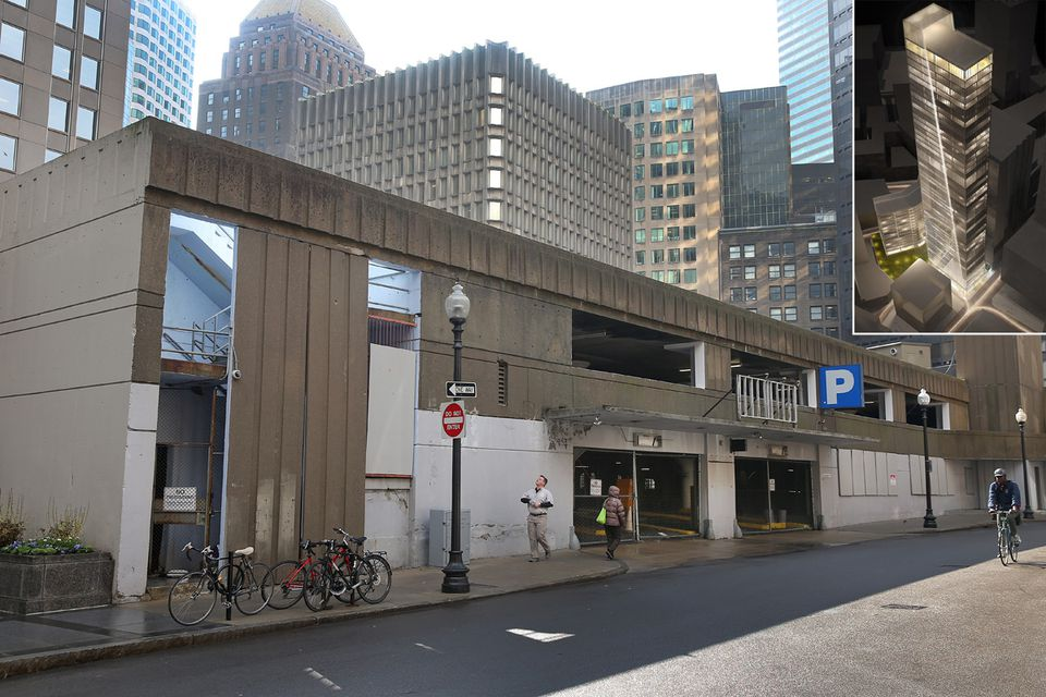 The Winthrop Street Garage was condemned in 2013.