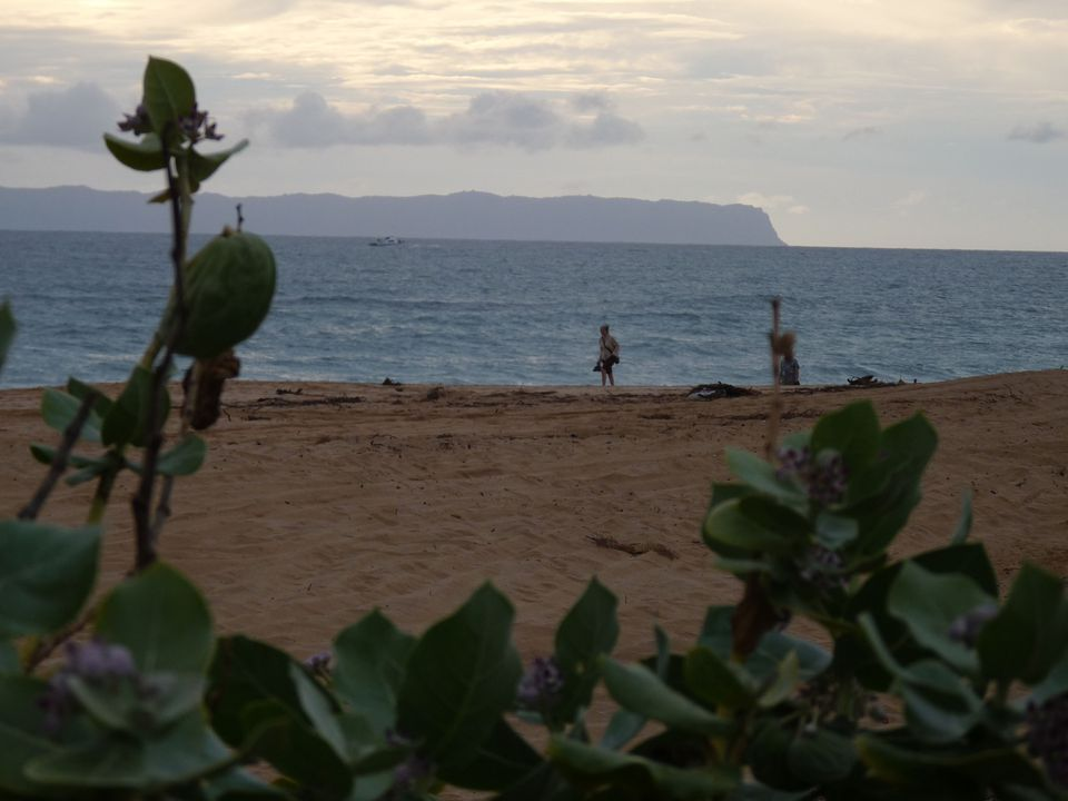 Seen from Kauai's western shore, Niihau appears almost ethereal on the horizon. The island is privately owned, a haven for Niihau natives, who can have no contact with tourists, and a site for US military testing.