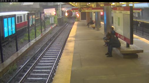MBTA releases video footage of June Red Line derailment