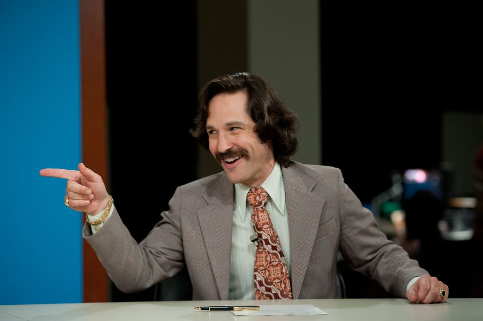 """Paul Rudd is Brian Fantana in """"Anchorman 2: The Legend Continues."""""""