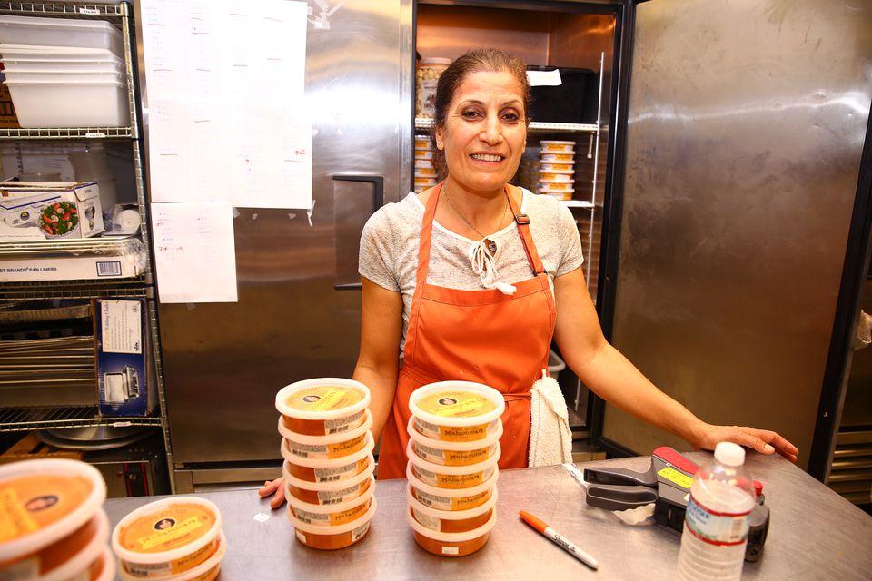 Samira Hamdoun operates Samira's Homemade  from a commercial kitchen in Somerville.