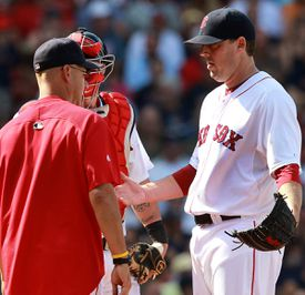 Francona was sometimes met by stares from John Lackey when he lifted the starter from games.