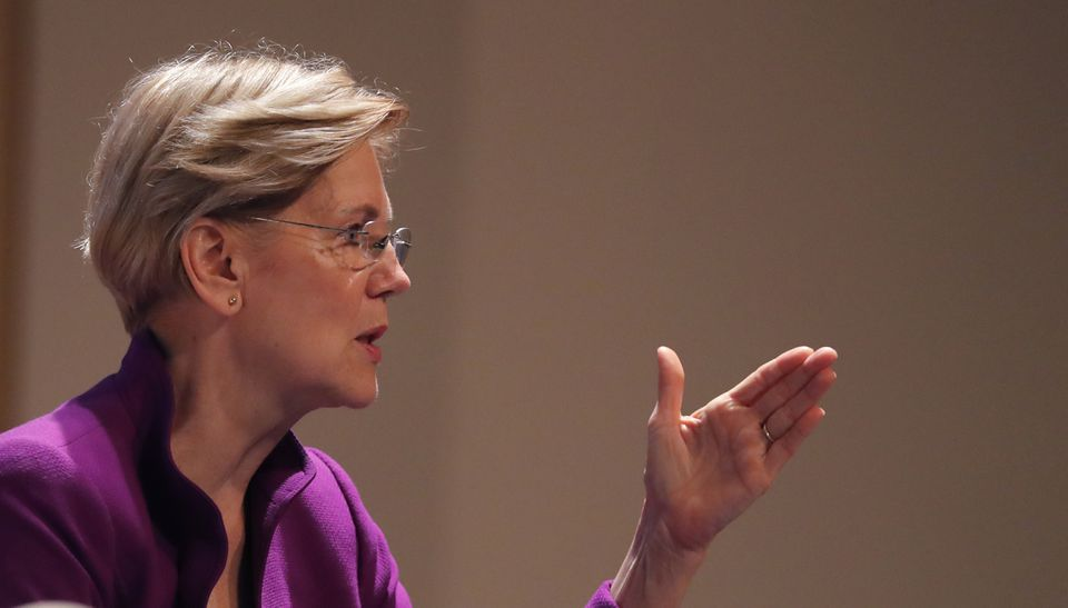 Elizabeth Warren spoke during an event at Dillard University in New Orleans on Aug. 3.
