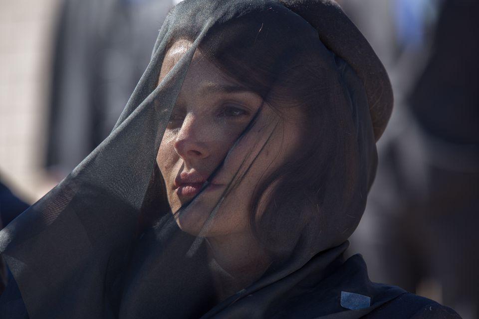 """Natalie Portman as Jackie Kennedy in Pablo Lorraín's """"Jackie."""""""