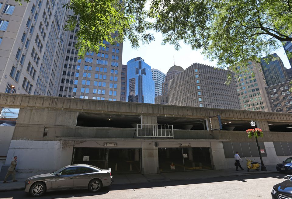 The Winthrop Square Garage in downtown Boston.