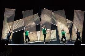 Members of Boston Ballet perform at the Boston Ballet Ball.