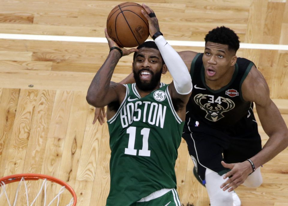 Superstars Kyrie Irving and Giannis Antetokounmpo appear headed for a showdown.