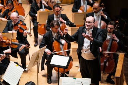 English conductor, Swiss pianist, Polish composer debut with BSO