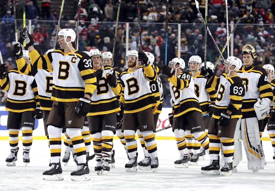 A stick salute by the victors.
