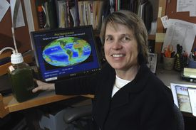 SALLIE CHISHOLM — It is unusual for oceanographers to receive this honor, MIT's Chisholm said.