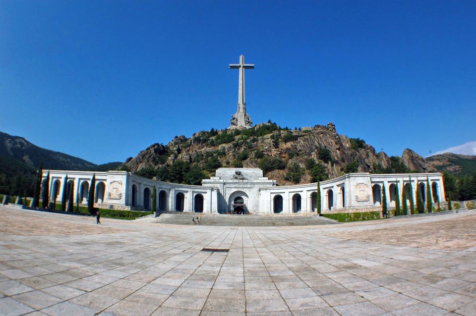 The Valley of the Fallen outside Madrid, Spain.