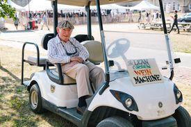 Longtime Newport Jazz Festival executive director George Wein.
