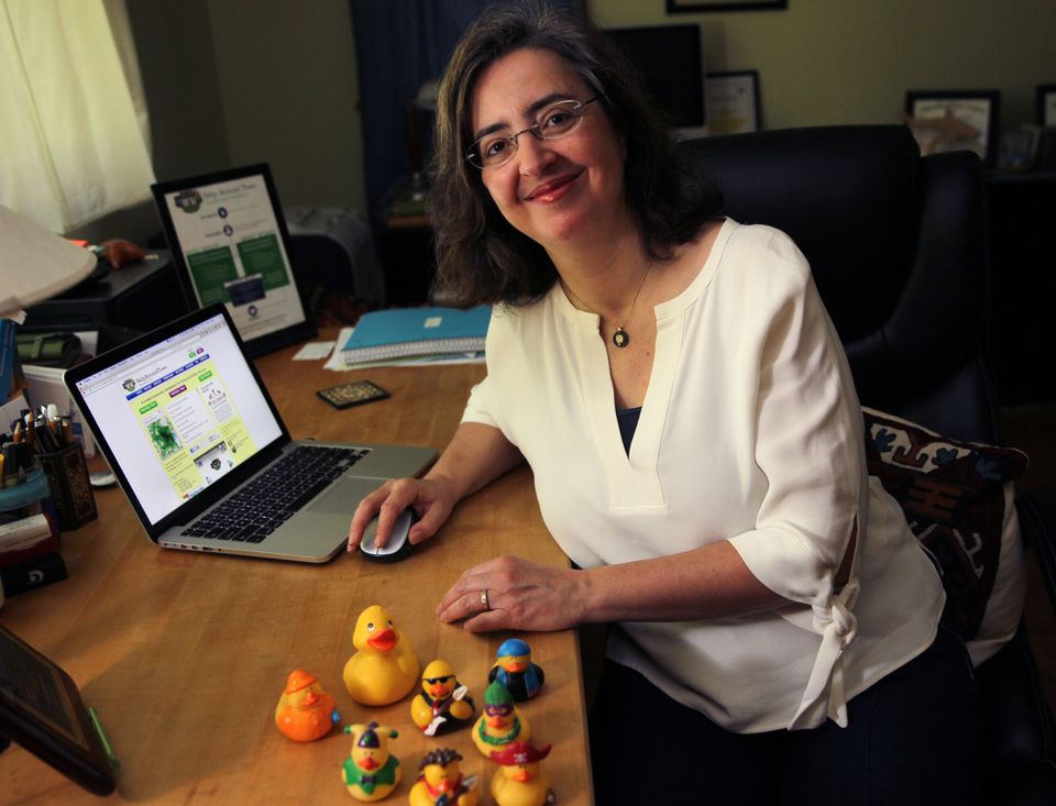 Reem Yared, founder of Help Around Town Inc. in Lexington.