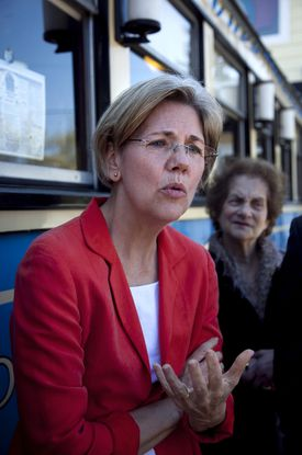 """""""I think [the victims] should be compensated. That's it for me. That's what this is all about,"""" Elizabeth Warren said recently."""