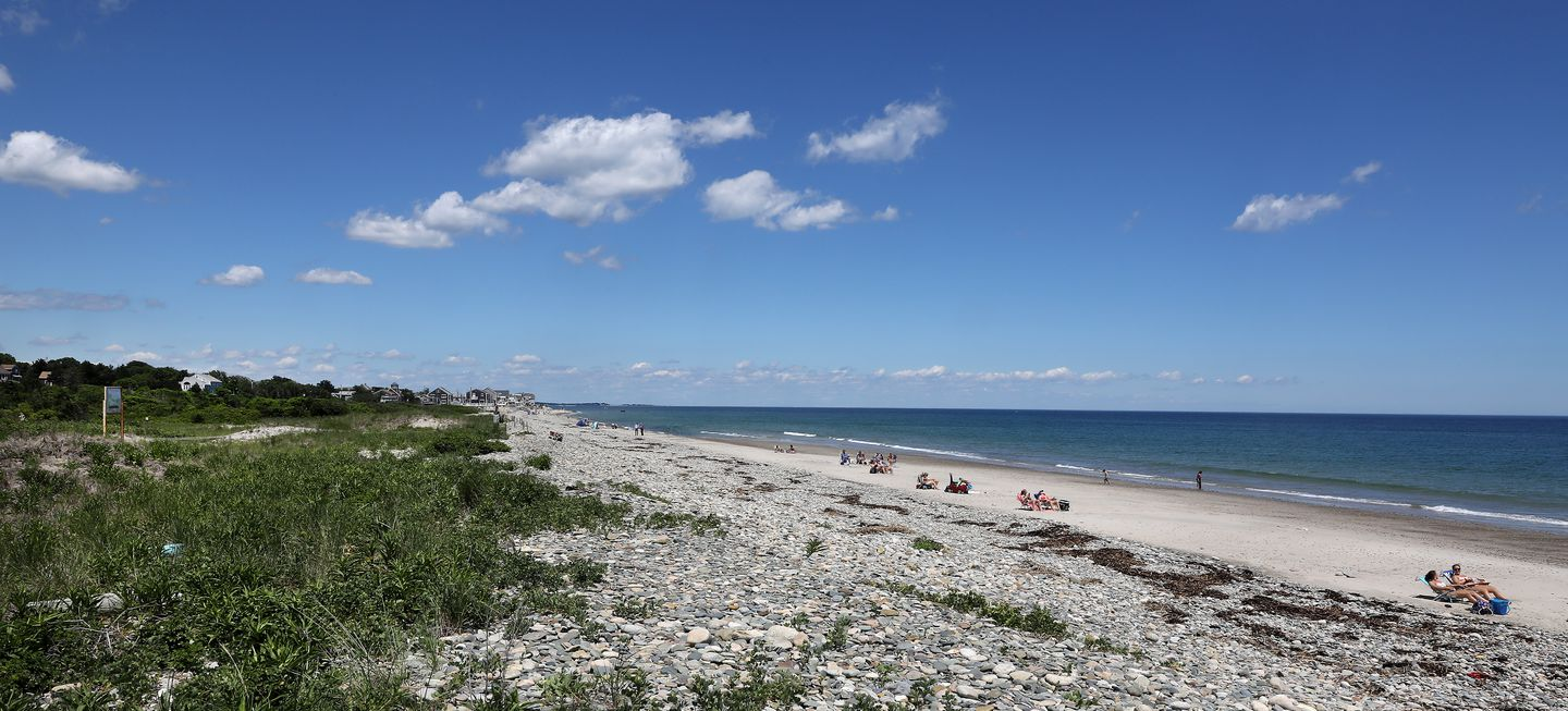 Old Rexhame Beach, a place of bucolic beauty on a spit of land in Marshfield, has long been the site of simmering tensions. Recently, those tensions have extended beyond the neighborhood and into civil and criminal courts.