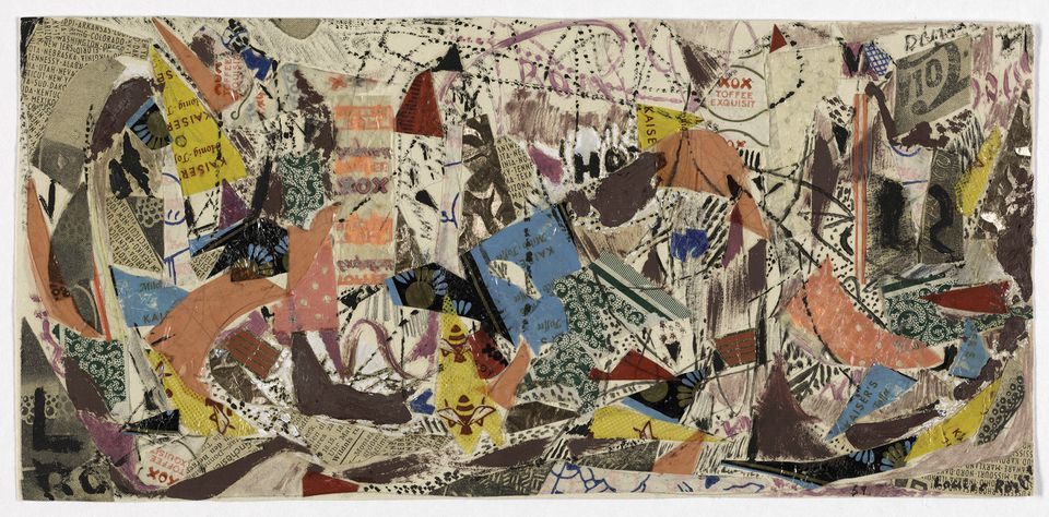 """Inventur-Art in Germany, 1943-55,"" February 9-June 3, 2018 at the Special Exhibitions Gallery, Harvard Art Museums. Pictured: Louise Rosler, Street 