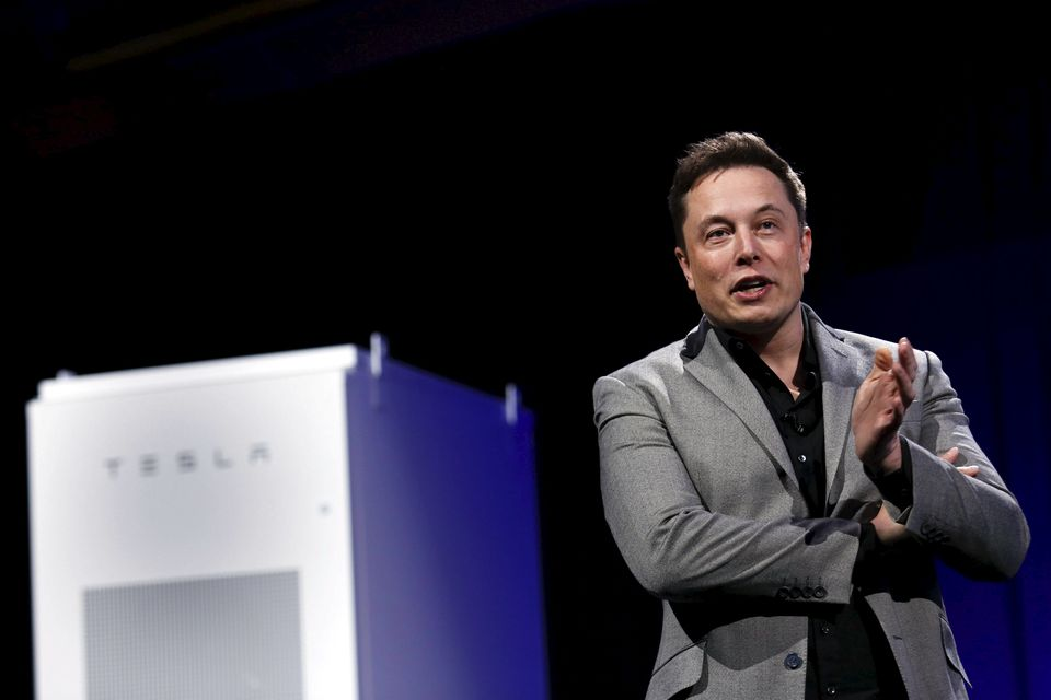 Elon Musk's Tesla Inc. will receive $1.1 million from the Baker administration for batteries the company will install at the Wynn Boston Harbor hotel and casino.