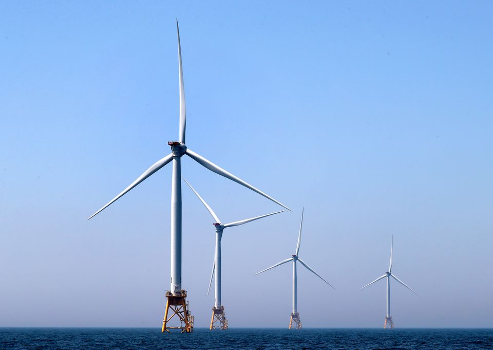The Vineyard Wind project will have as many as 100 turbines 15 miles south of Martha's Vineyard.