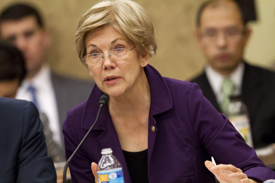 Senator Elizabeth Warren is urging a fast nominating process for the next Supreme Court justice.