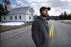 Kevin Ross in West Forks, Maine.