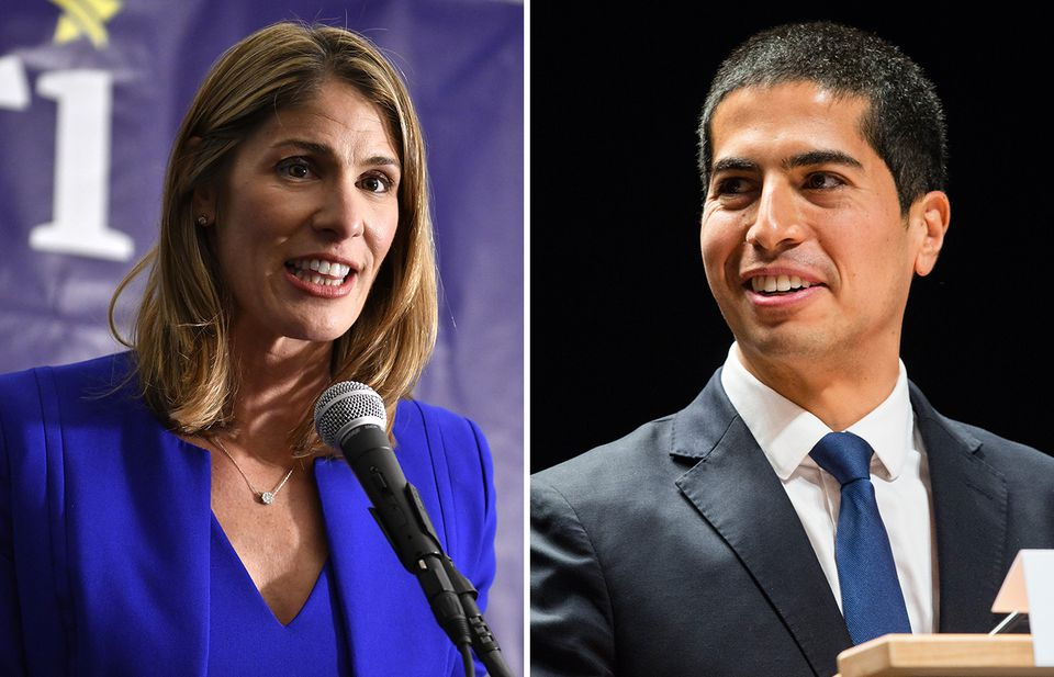 As of Wednesday  morning, few votes were separating Lori Trahan and Dan Koh.