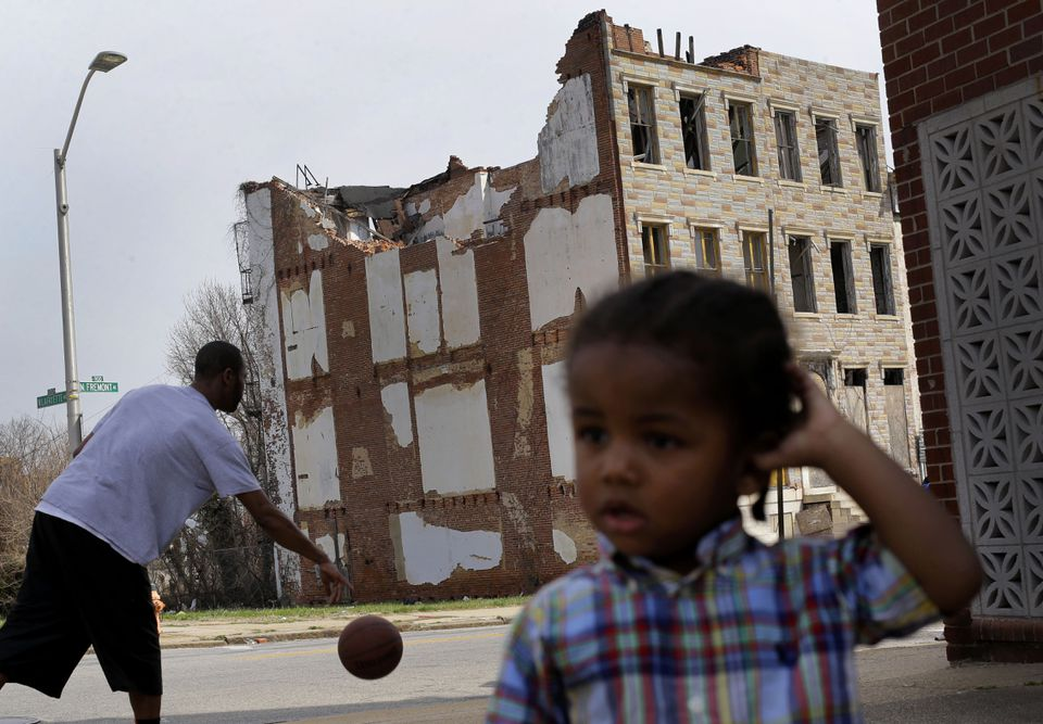 Baltimore's neighborhoods rate as the worst place in the country for economic mobility.