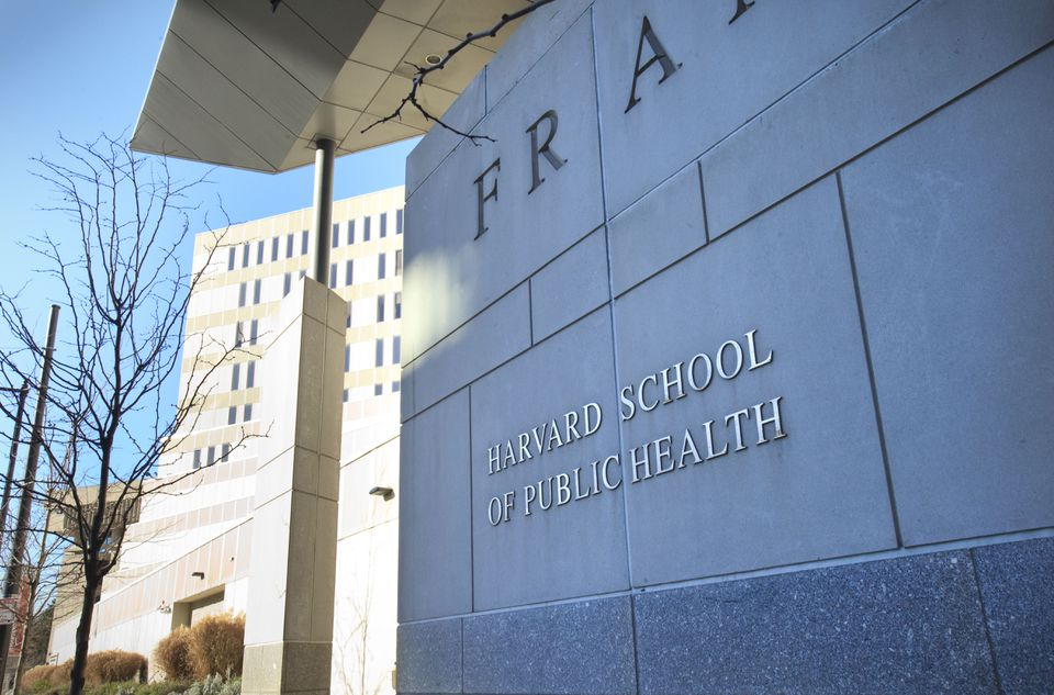 The Harvard University School of Public Health facilities in the Longwood Medical Area.