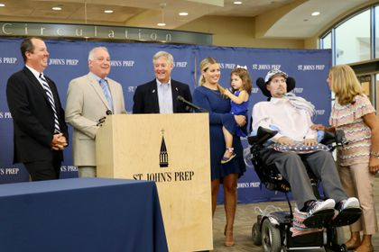 Pete Frates's high school holds him in high esteem - The