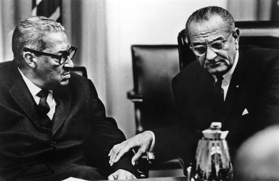 President Johnson was bent on having Thurgood Marshall confirmed as a Supreme Court justice, but he also had a backup plan.