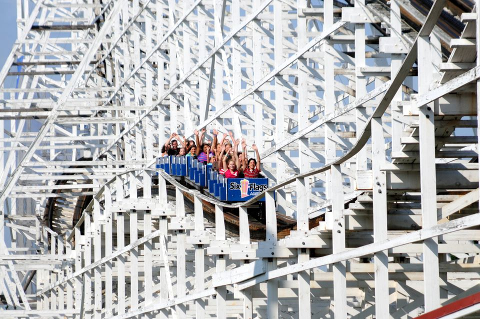 The Wild One at Six Flags America marked its 100th anniversary in 2017.