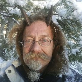 Phelan Moonsong, an ordained Pagan priest, finally has gotten the OK to sport goat horns in his Maine driver's license photo.