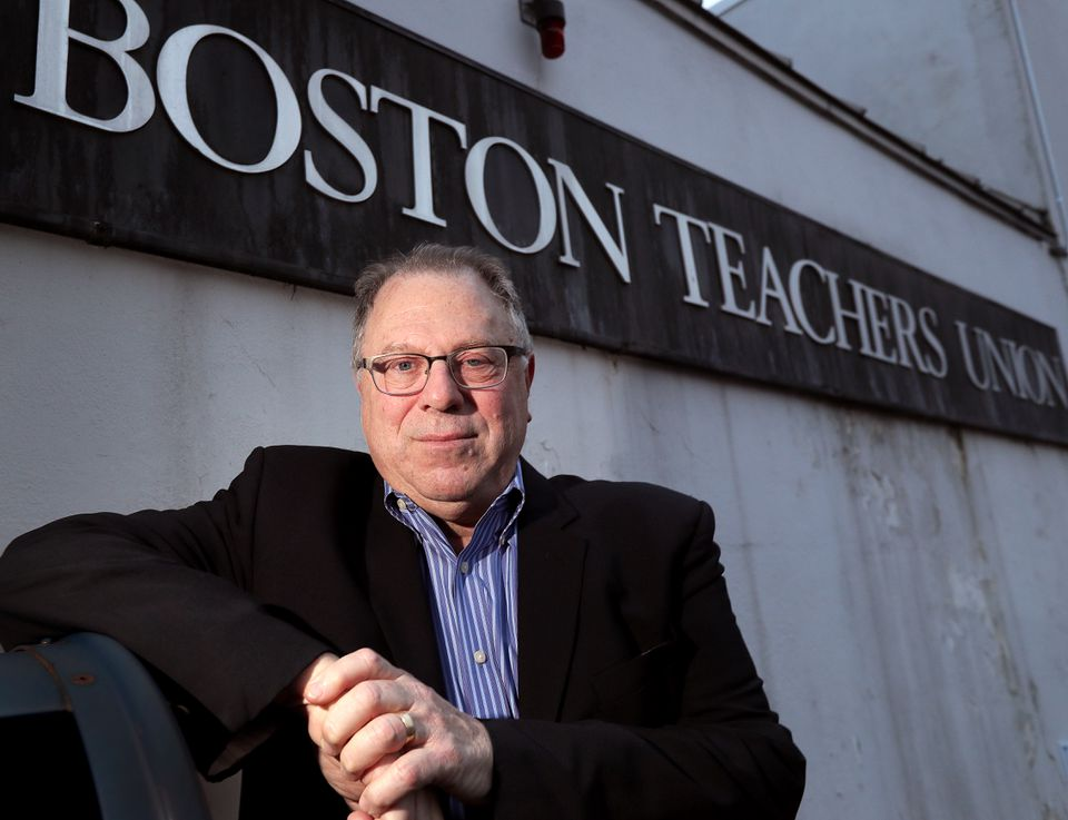 Richard Stutman was president of the Boston Teachers Union for 14 years. He spent most of his career in the school sysytem.