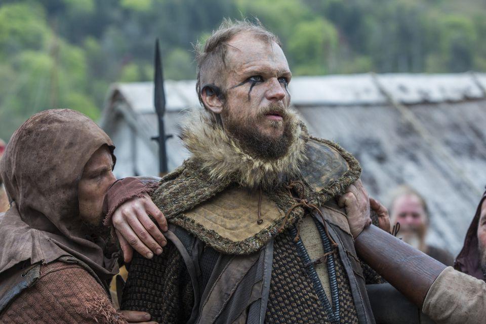 Gustaf Skarsgard as menacing boat builder Floki.