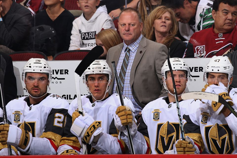 Coach Gerard Gallant has done wonders behind the Vegas Golden Knights bench.